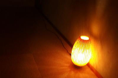 部屋にある行燈