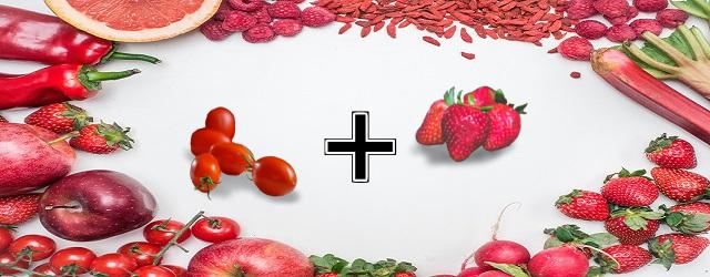 トマト+いちご
